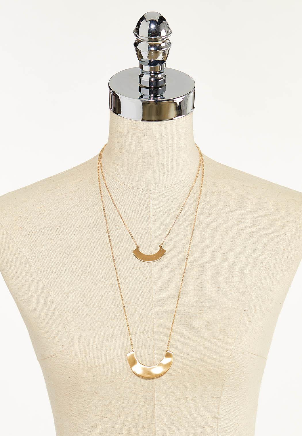 Crescent Bar Layered Necklace (Item #44570645)