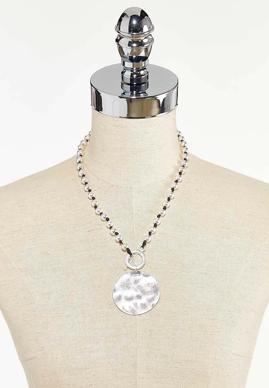 Toggle Cord Pendant Necklace (Item #44571675)