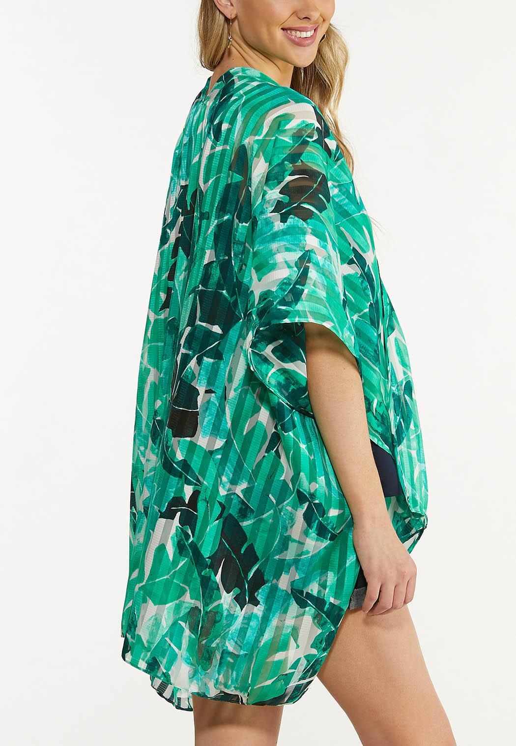 Tropical Palm Kimono (Item #44571806)