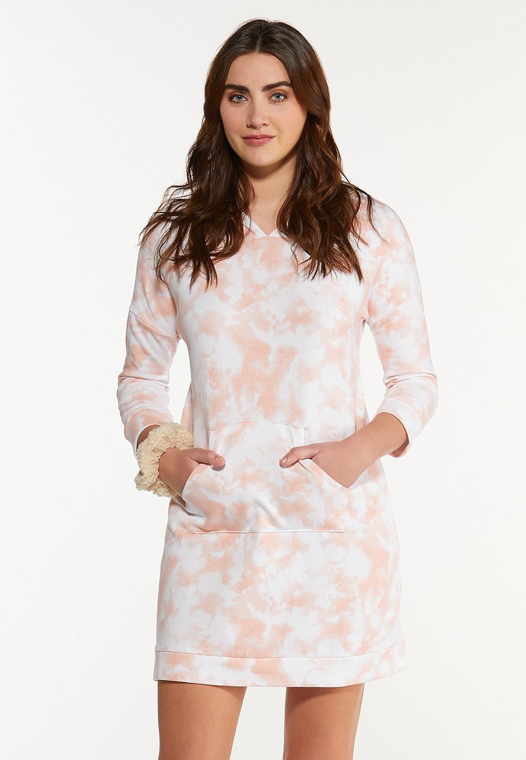 Plus Size Tie Dye Lounge Dress (Item #44572210)