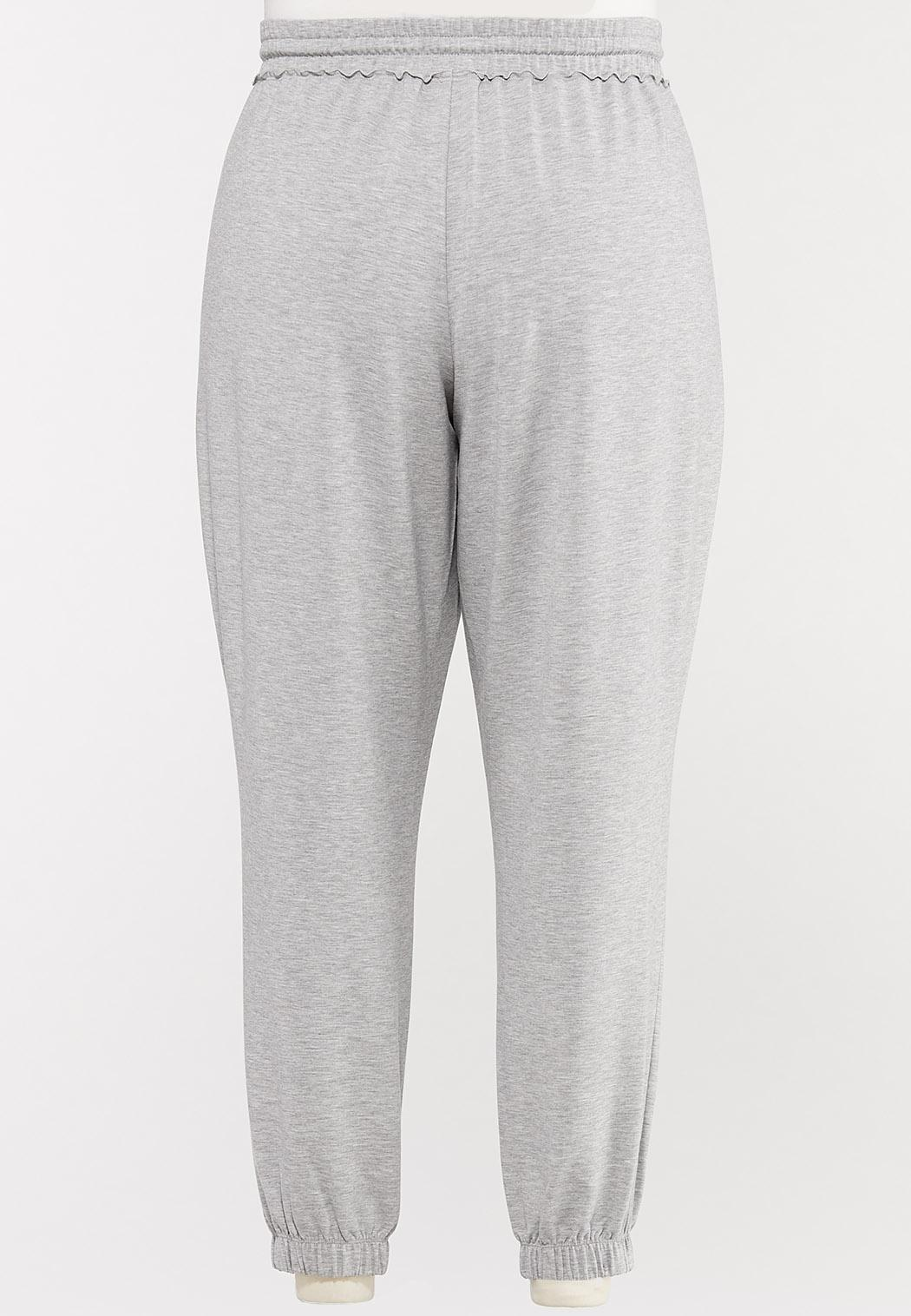 Plus Size French Terry Joggers (Item #44572804)
