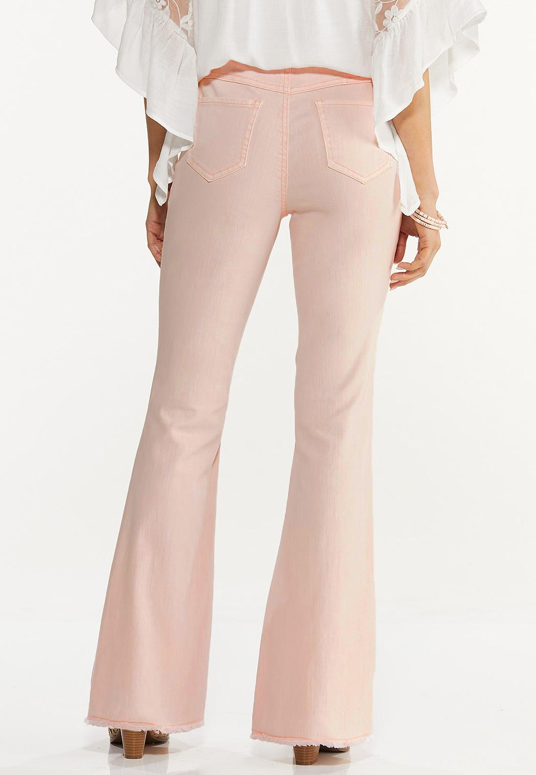 Solid Flare Jeans (Item #44573615)
