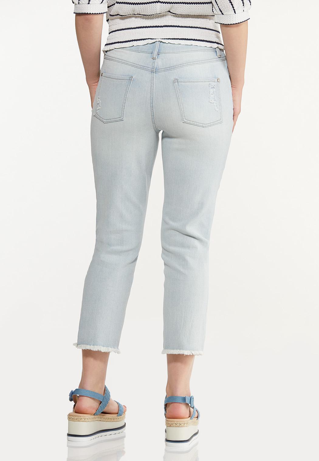 Distressed Lightwash Jeans (Item #44573668)