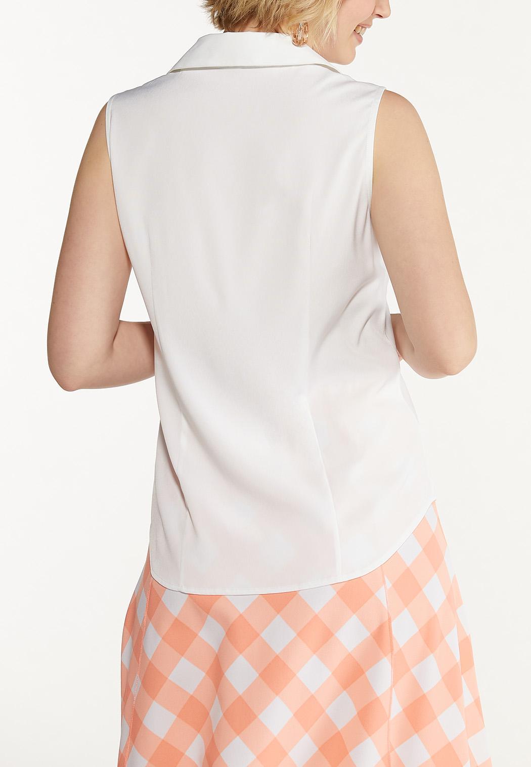 Button Down Sleeveless Shirt (Item #44575034)