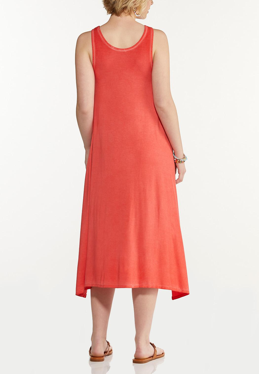 Plus Size Summer Soul Tank Dress (Item #44576045)