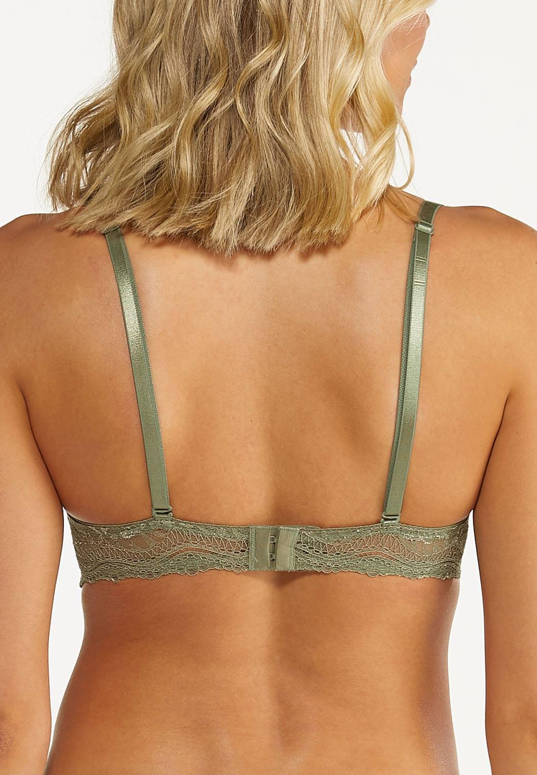 Leaf Lace Convertible Bra Set (Item #44576382)