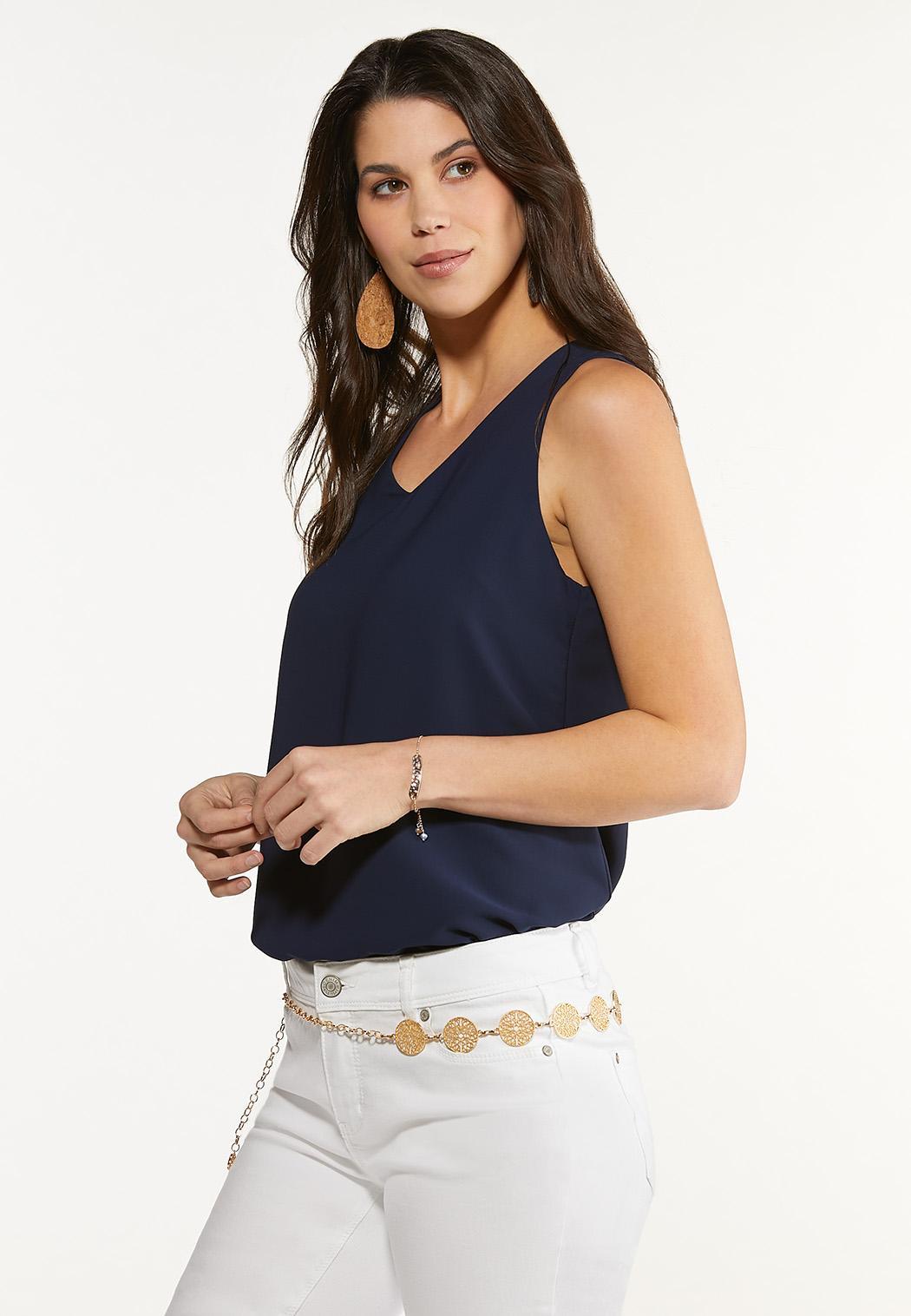 Plus Size Filigree Gold Chain Belt (Item #44576549)
