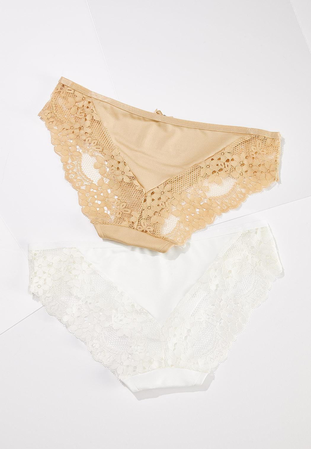 Plus Size Neutral Panty Set (Item #44576914)
