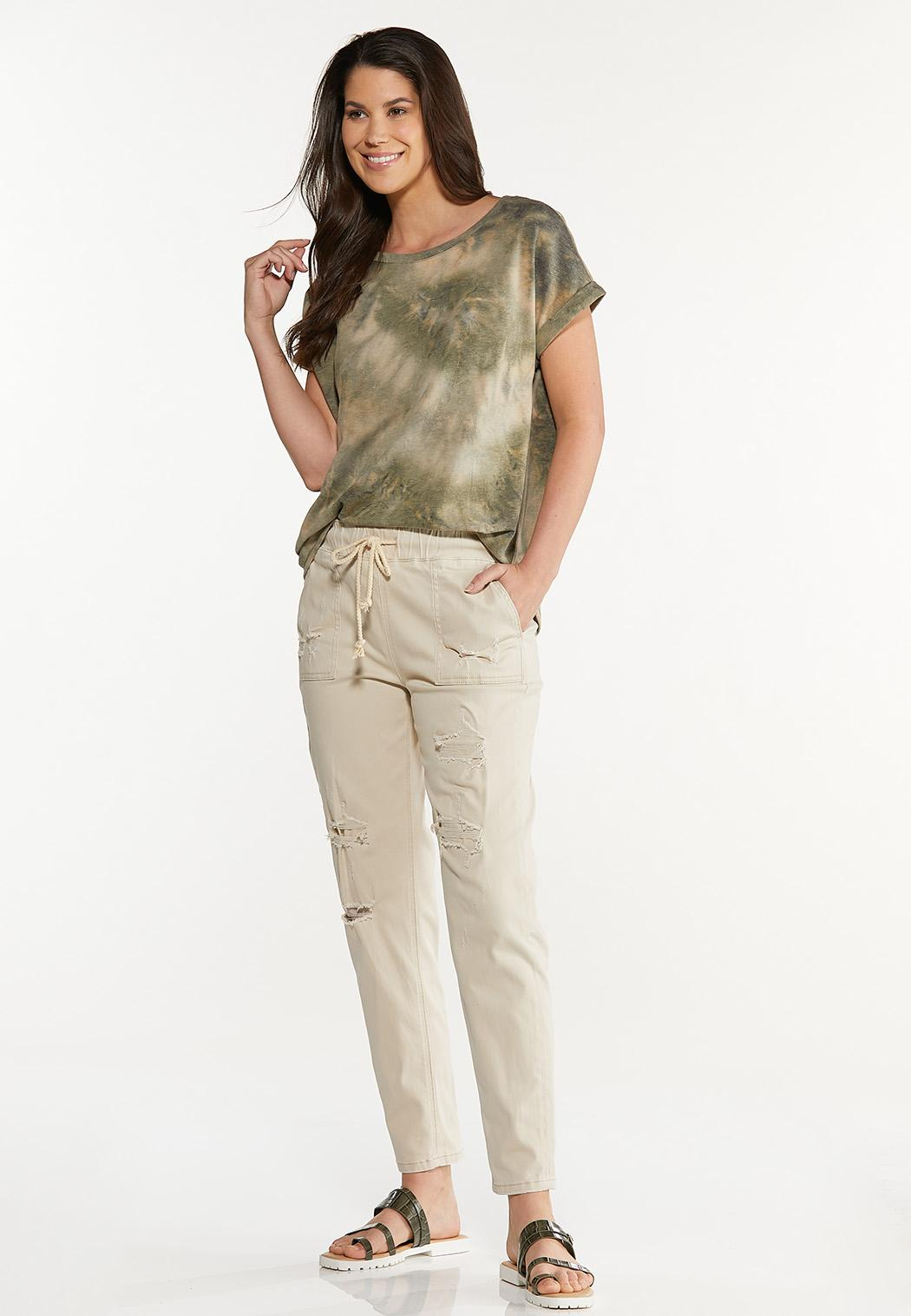 Khaki Twill Pants (Item #44577022)