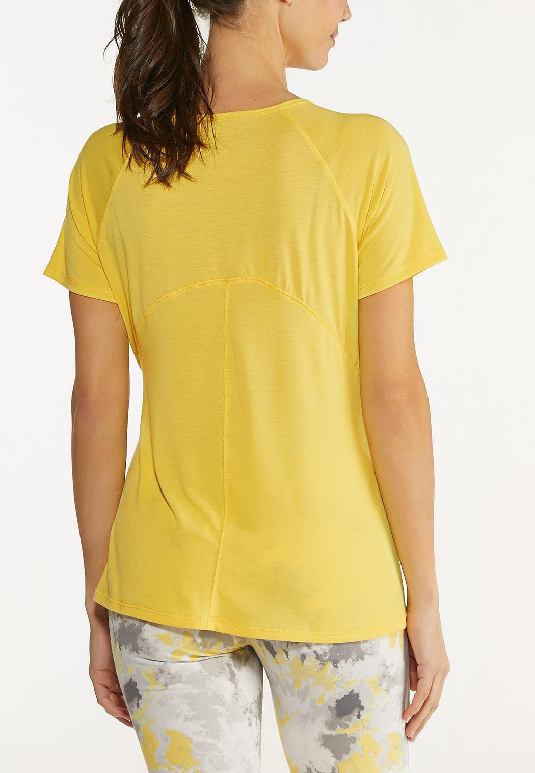 Plus Size Stretch Active Tee (Item #44577142)