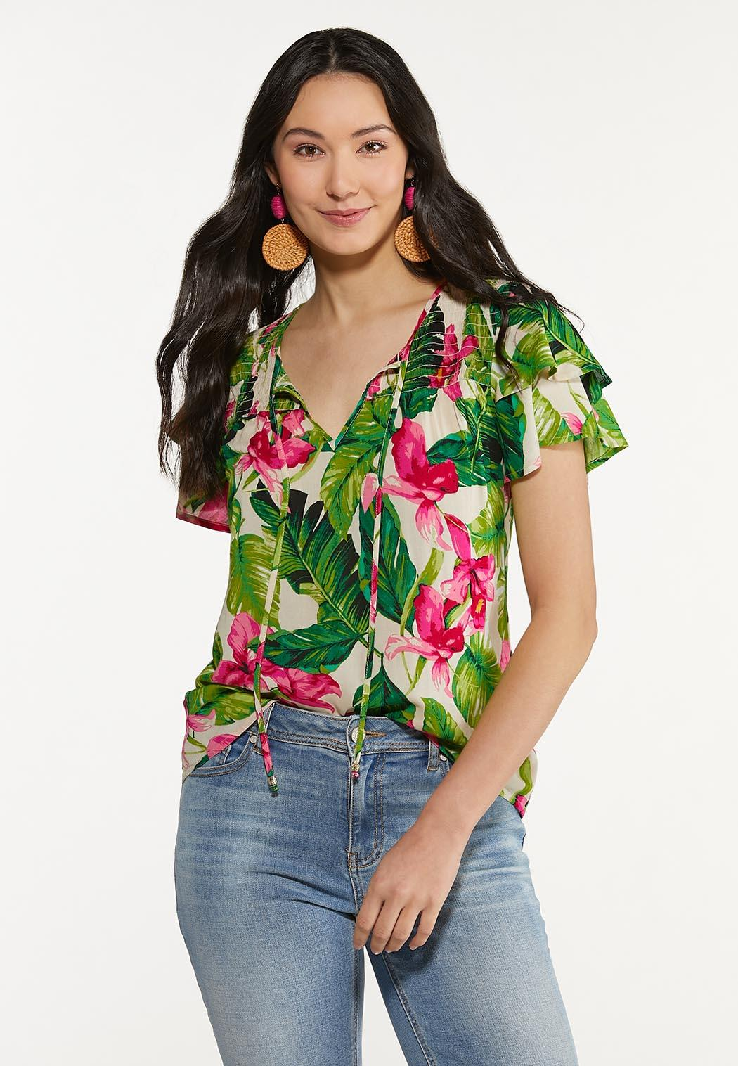 Bright Floral Top (Item #44577289)