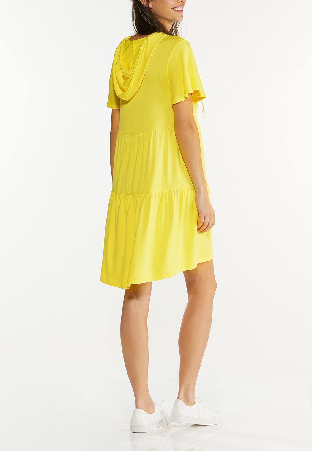 Plus Size Sunshine Days Hooded Dress (Item #44577779)