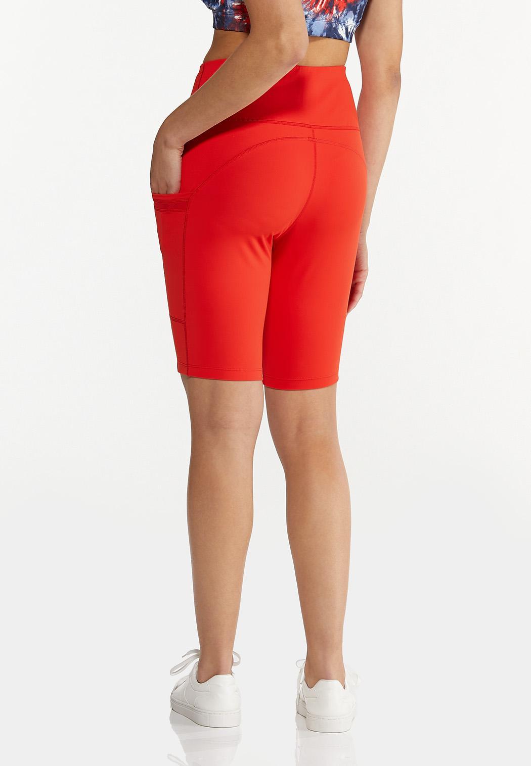 Solid Biker Shorts (Item #44577834)