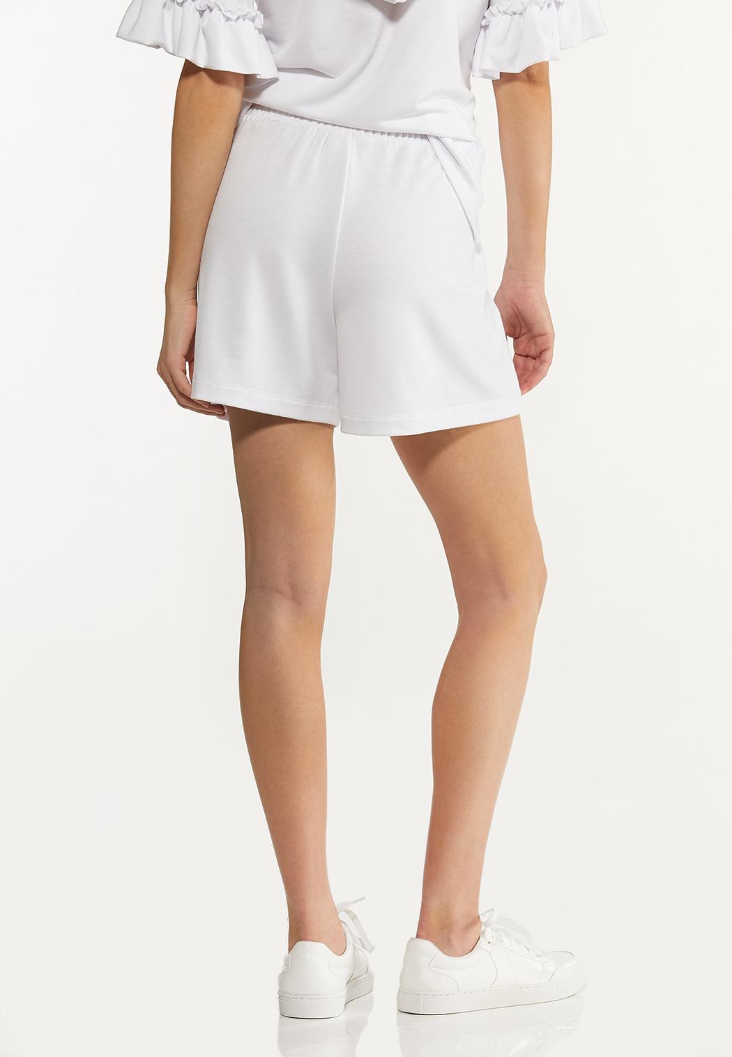 White Smocked Shorts (Item #44578033)