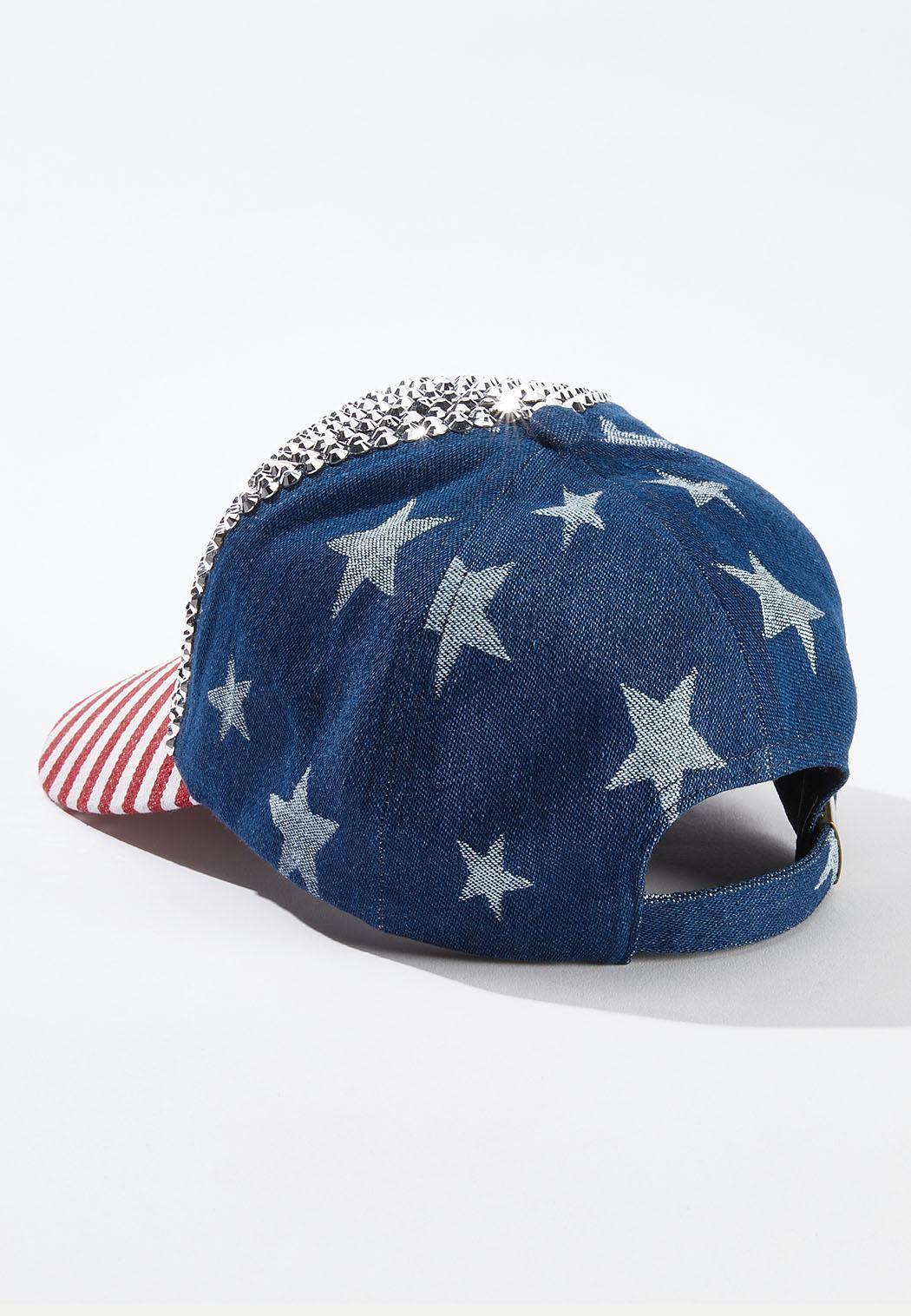 Americana Bling Baseball Hat (Item #44578308)