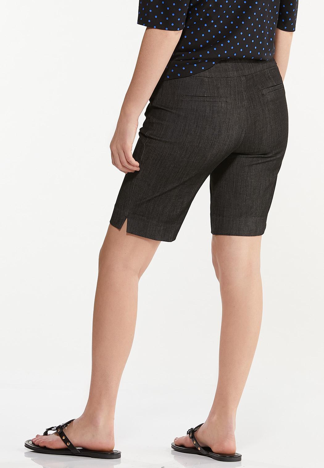 Denim Bermuda Shorts (Item #44578706)