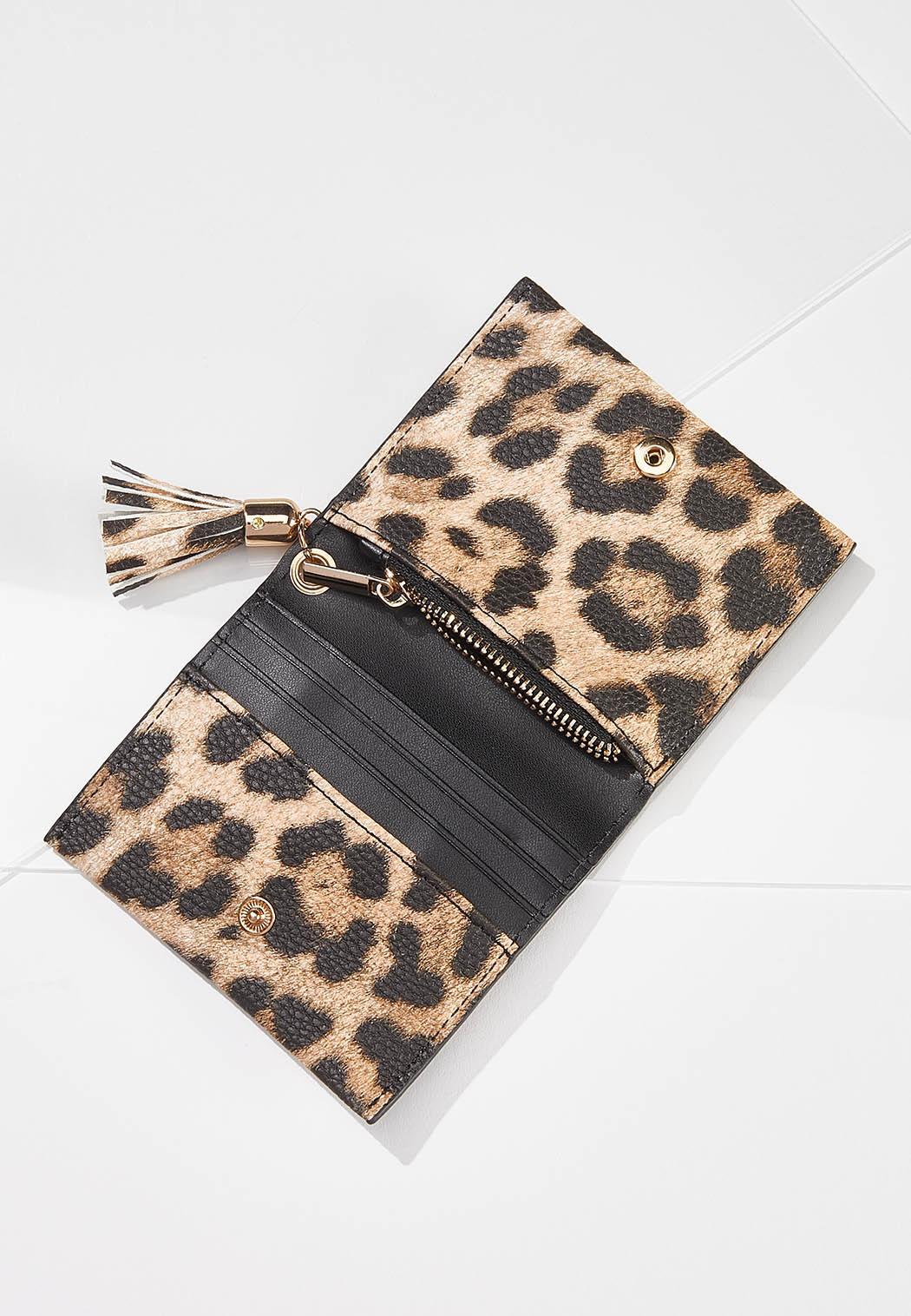 Mini Leopard Wallet (Item #44579071)
