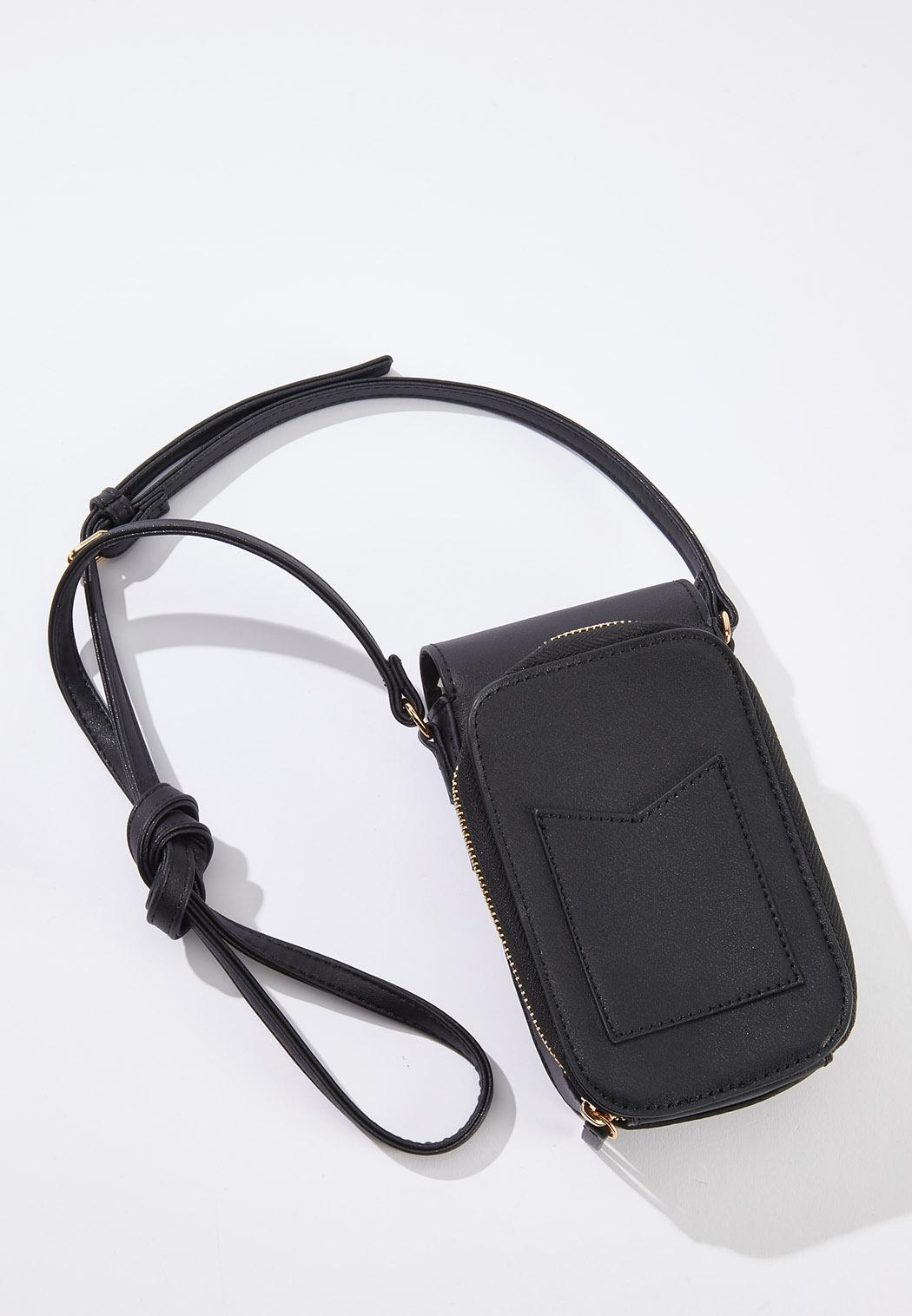 Leopard Panel Cellphone Crossbody (Item #44579189)