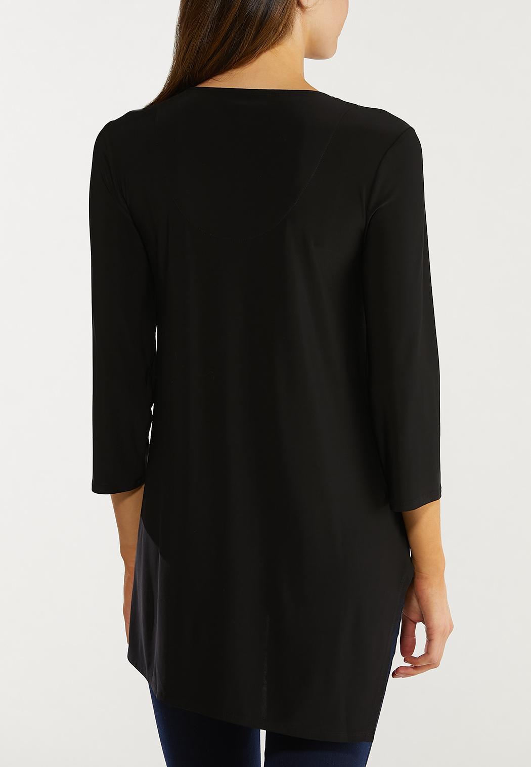 Plus Size Dressy Asymmetrical Top (Item #44579327)