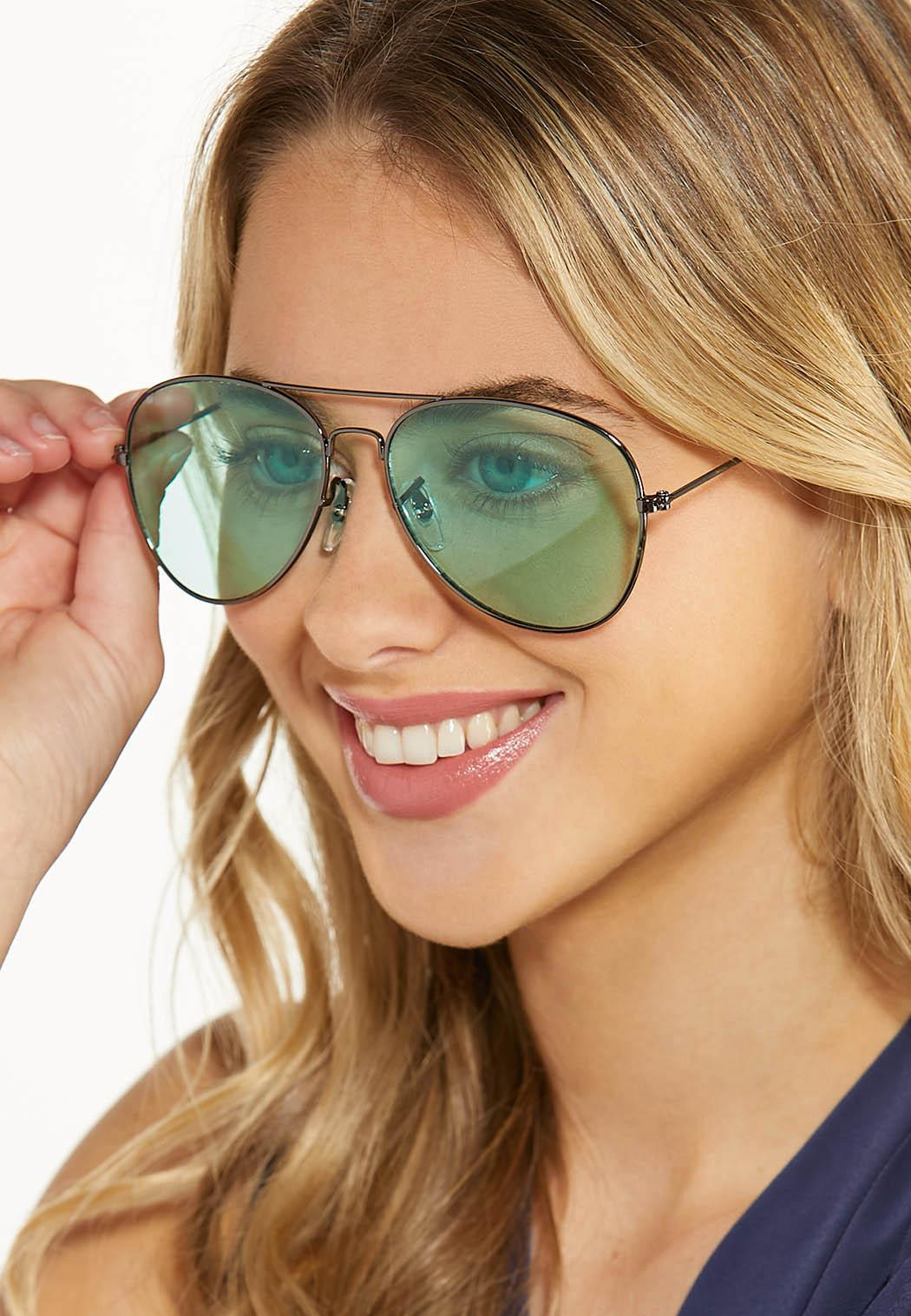Mint Aviator Sunglasses (Item #44579914)