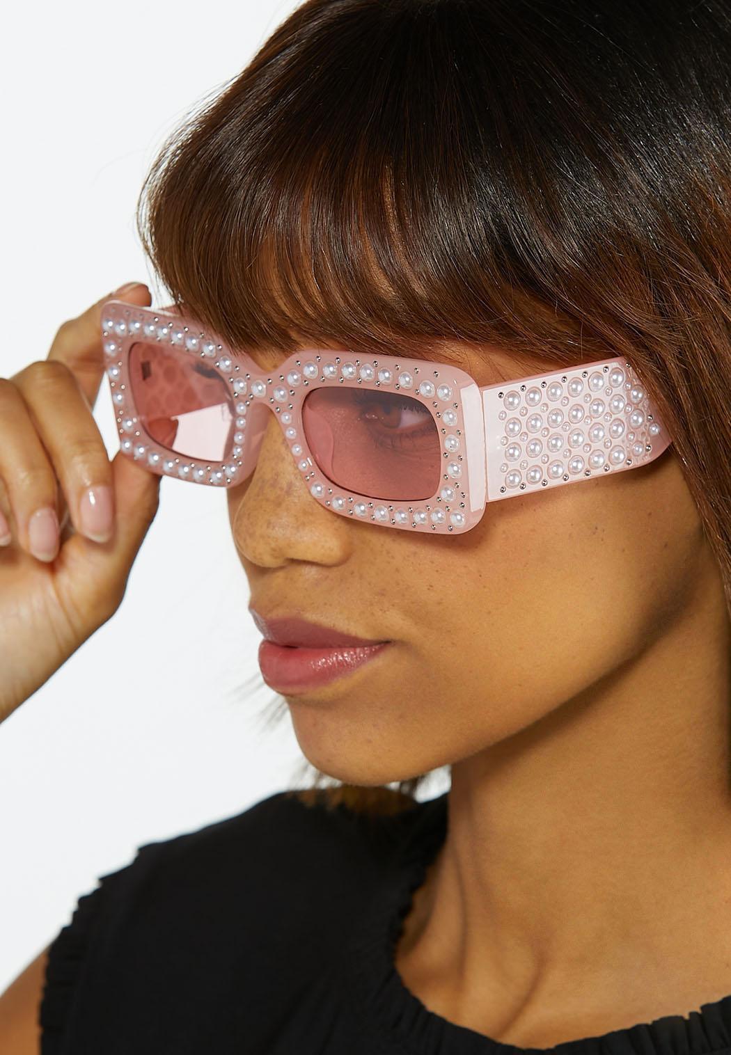Pink Pearl Sunglasses (Item #44579973)
