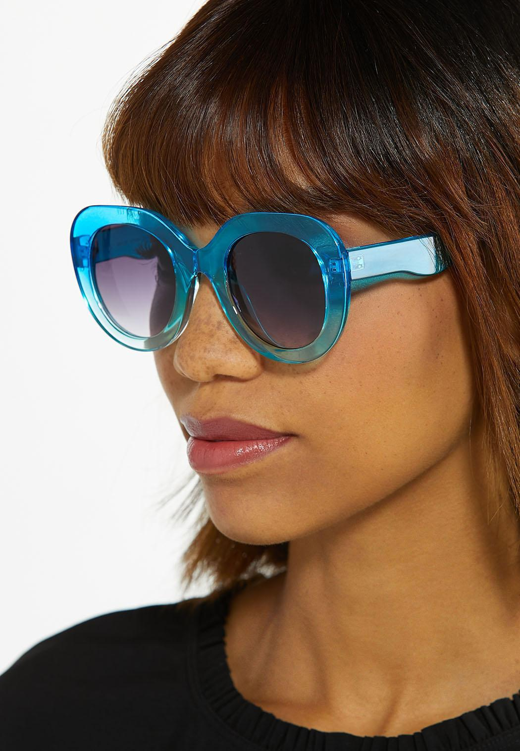 Blue Ombre Sunglasses (Item #44580038)