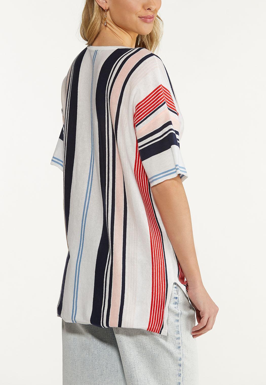 Striped Dolman Sweater (Item #44580039)