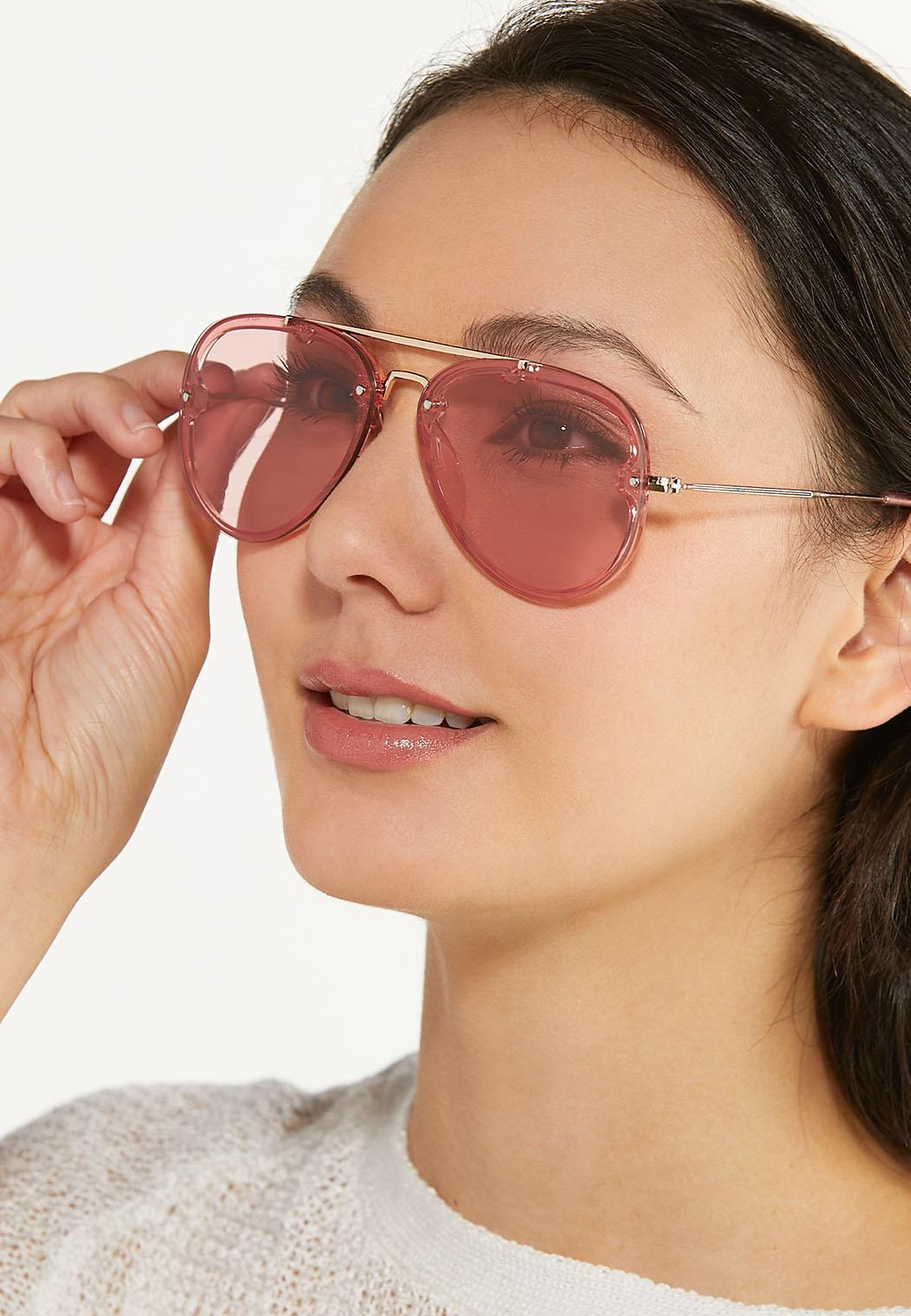 Pink Aviator Sunglasses (Item #44580122)