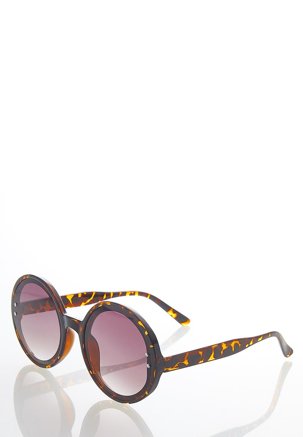 Oversized Tortoise Sunglasses (Item #44580243)