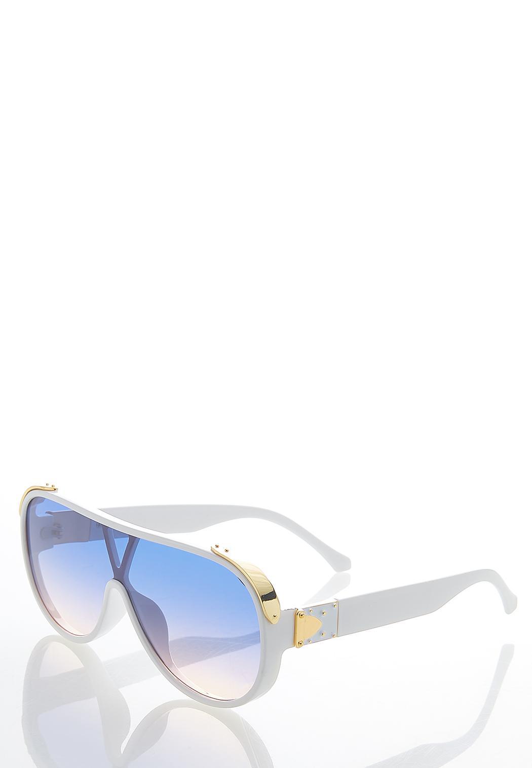 White Shield Sunglasses (Item #44580259)