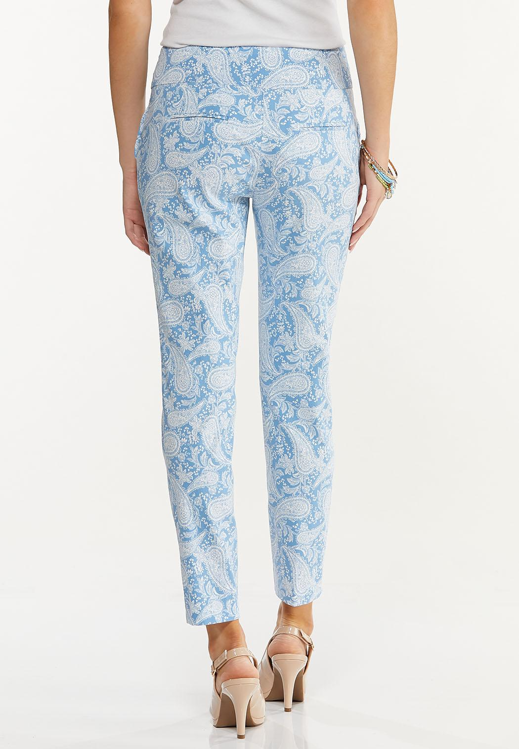 Paisley Bengaline Pants (Item #44580843)