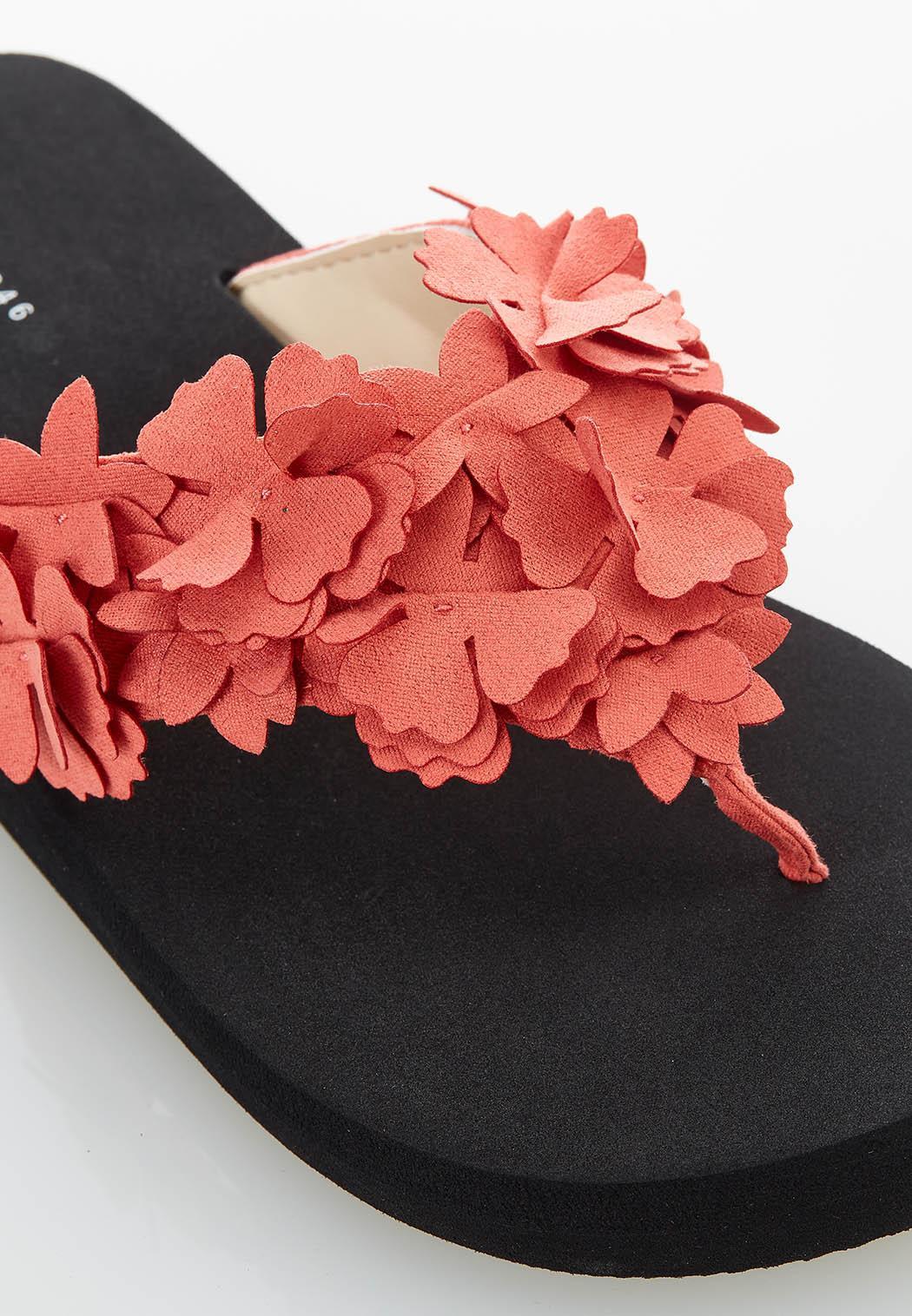 Flower Bloom Flip Flops (Item #44582810)
