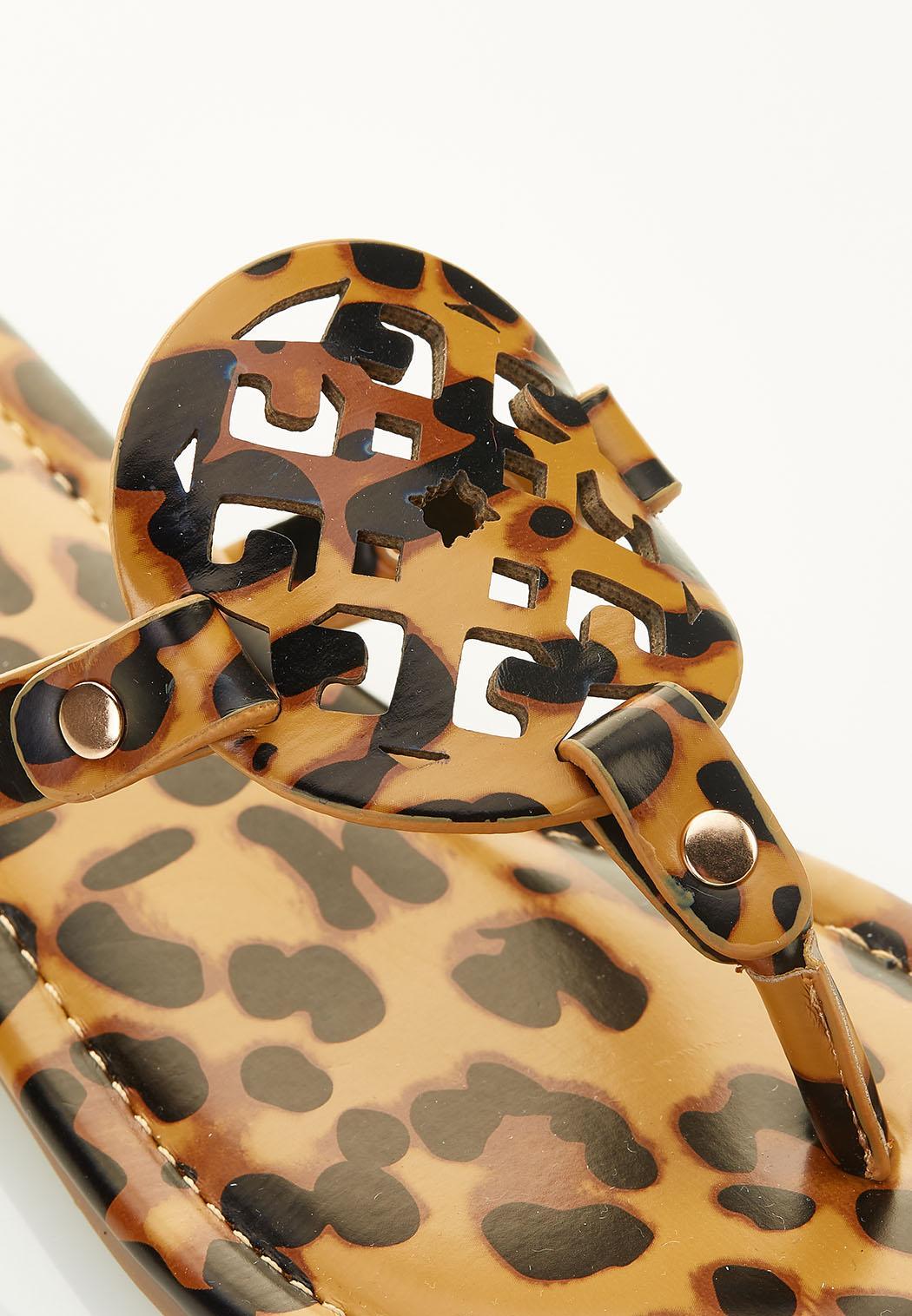 Cheetah Medallion Sandals (Item #44584898)
