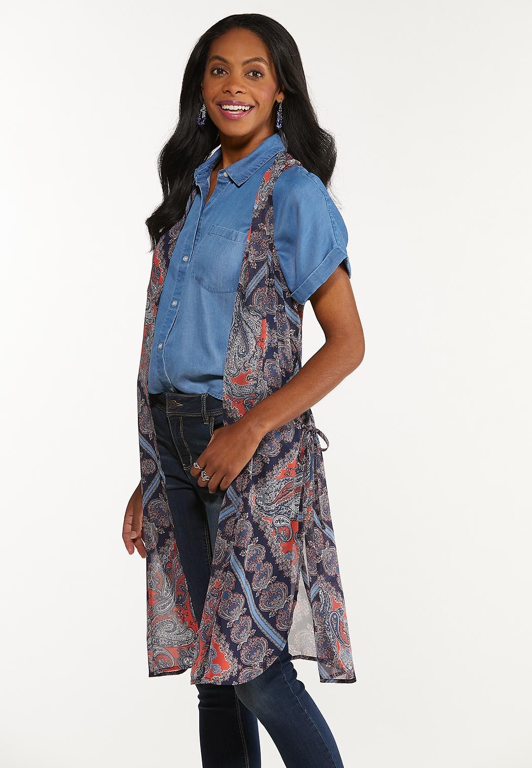 Paisley Patchwork Vest (Item #44586638)