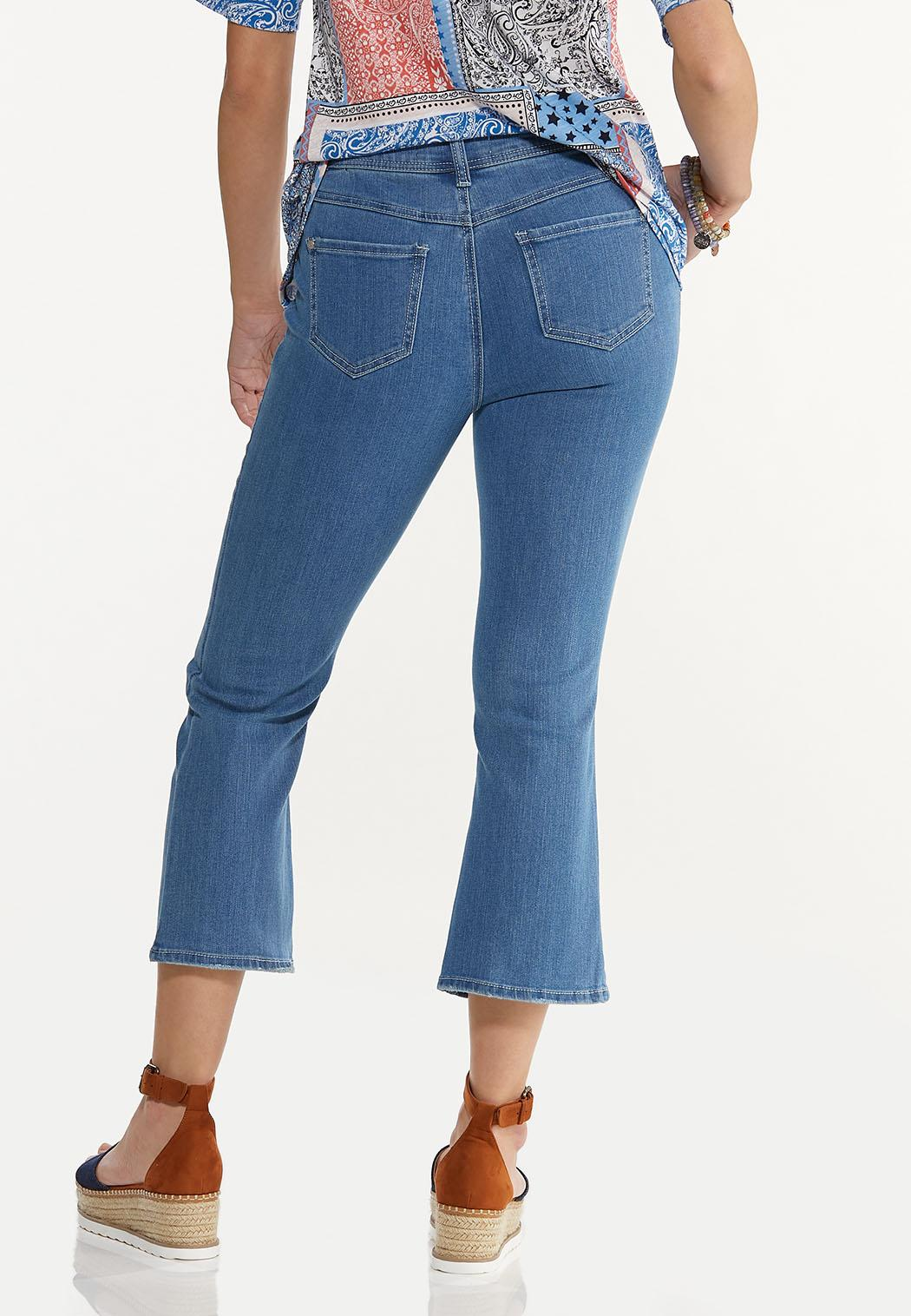 Cropped Flare Jeans (Item #44587476)
