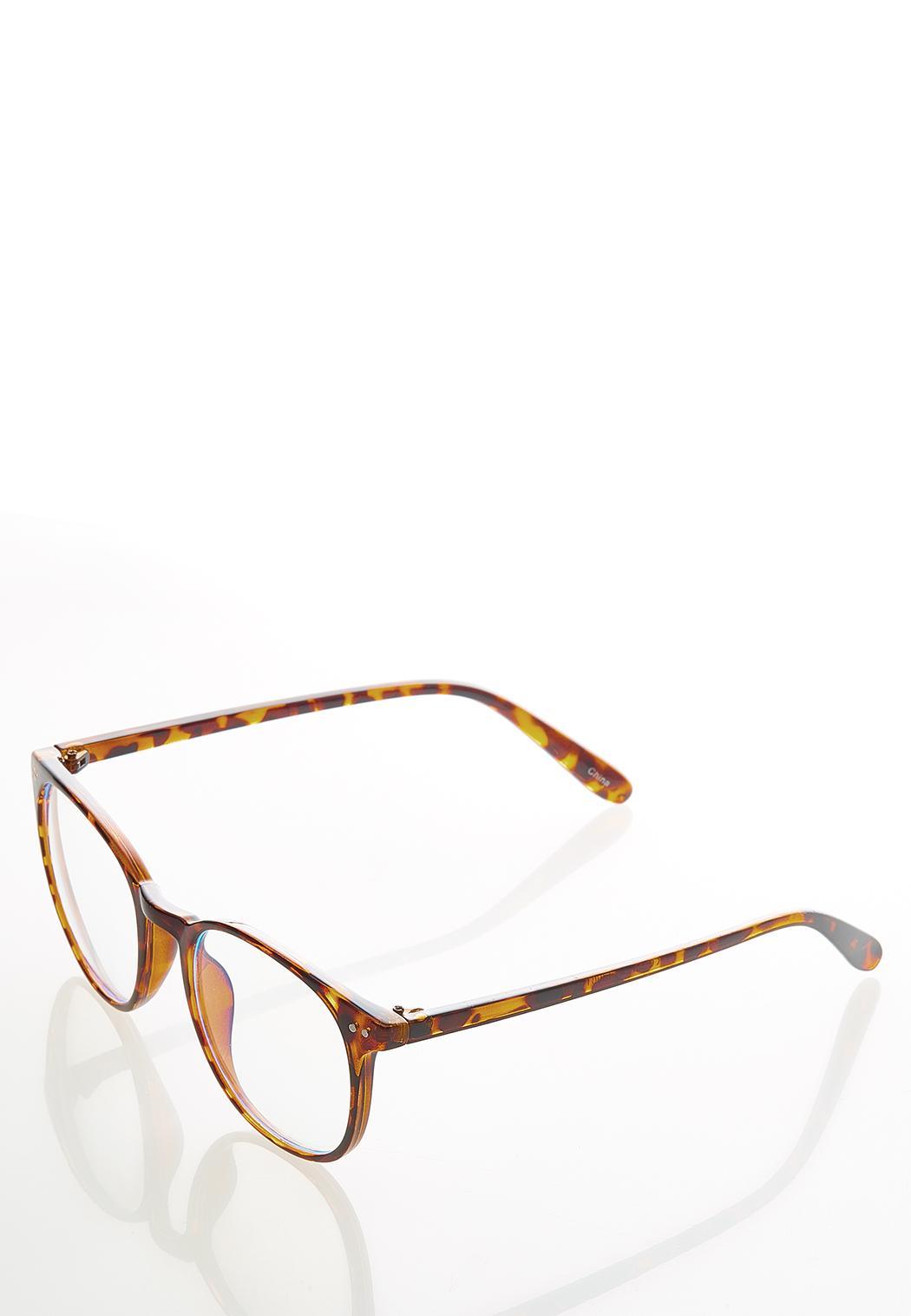 Tortoise Round Blue Light Glasses (Item #44587684)