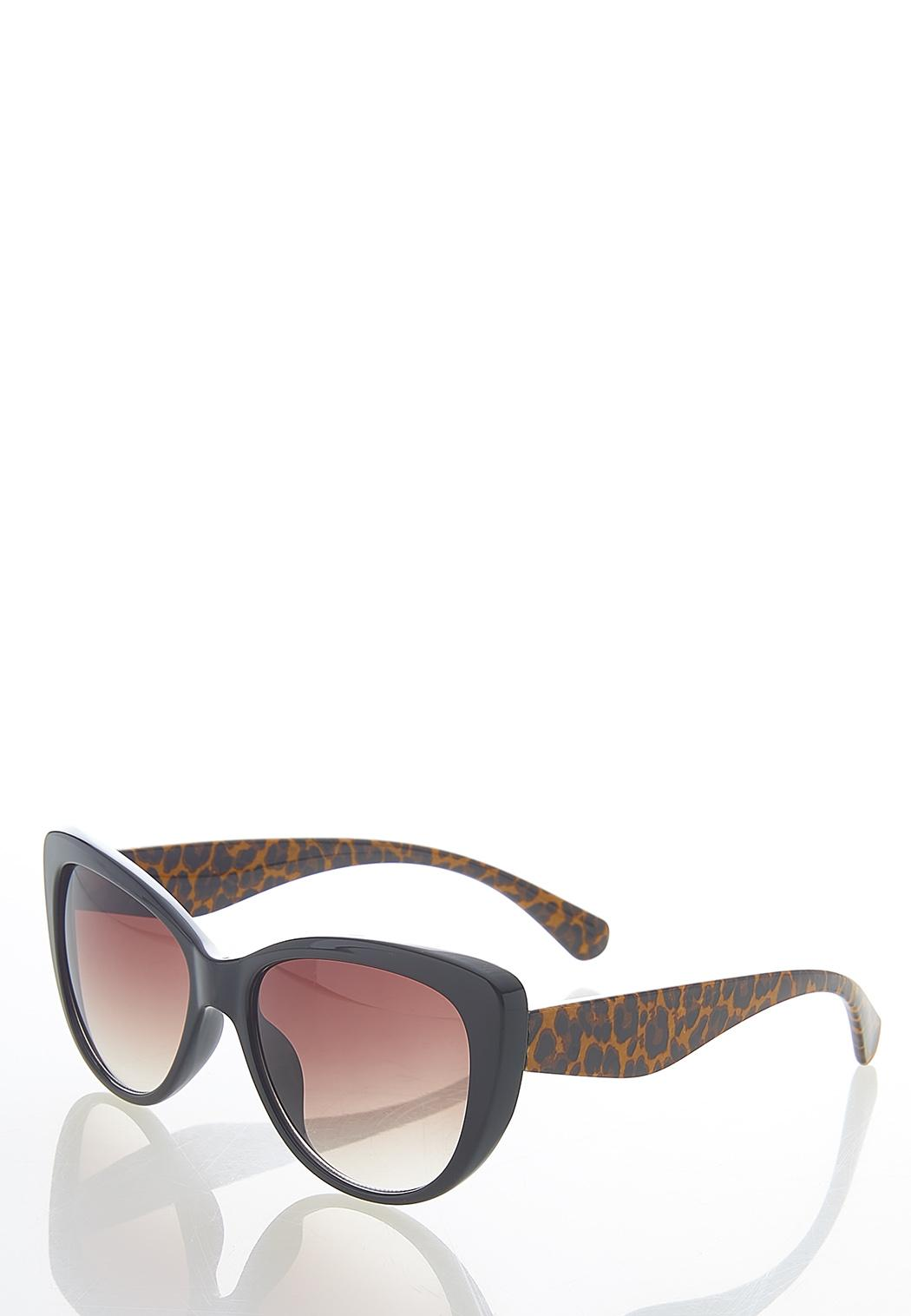 Leopard Arms Cat Eye Sunglasses (Item #44587919)