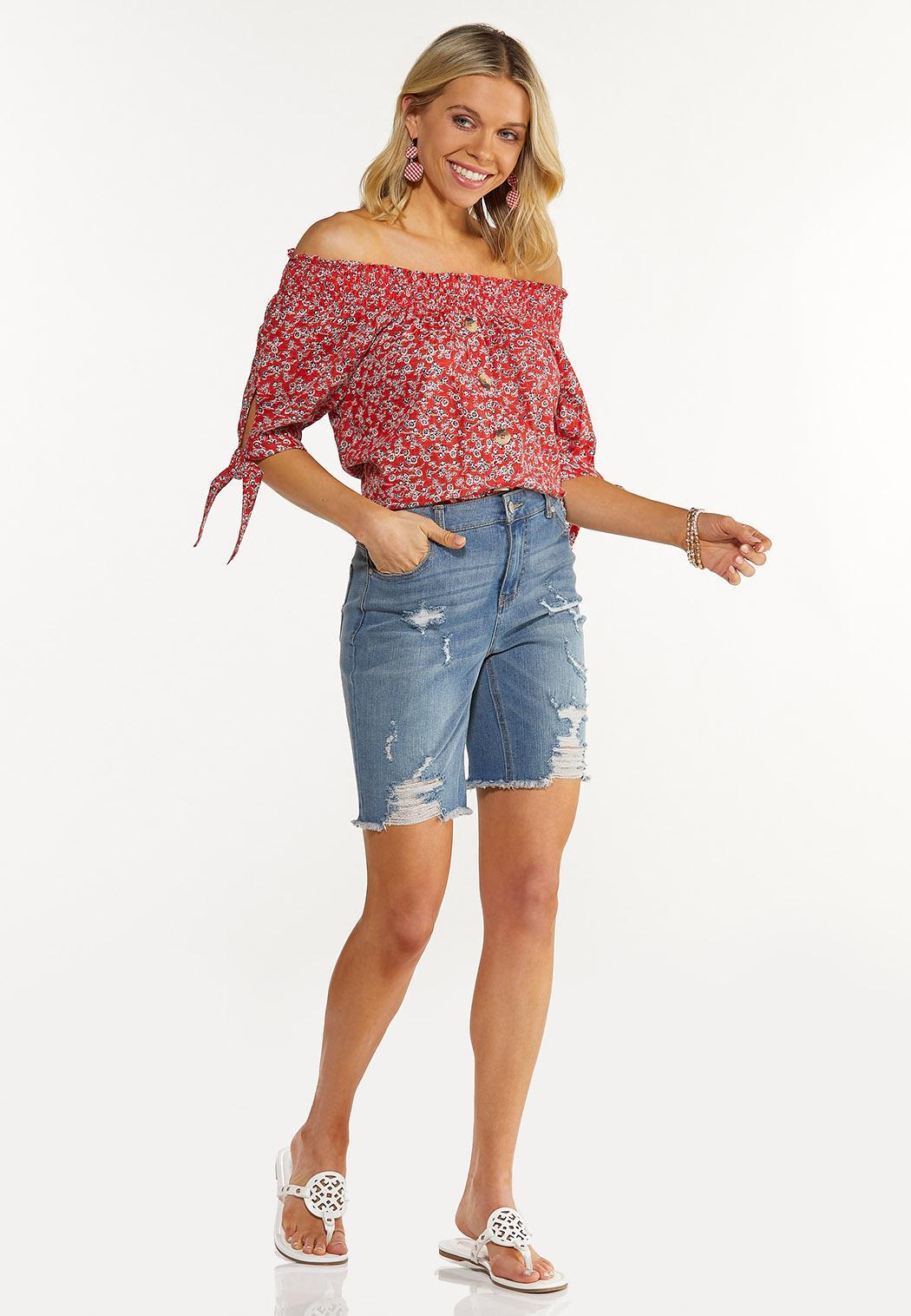 Flame Floral Convertible Top (Item #44587941)