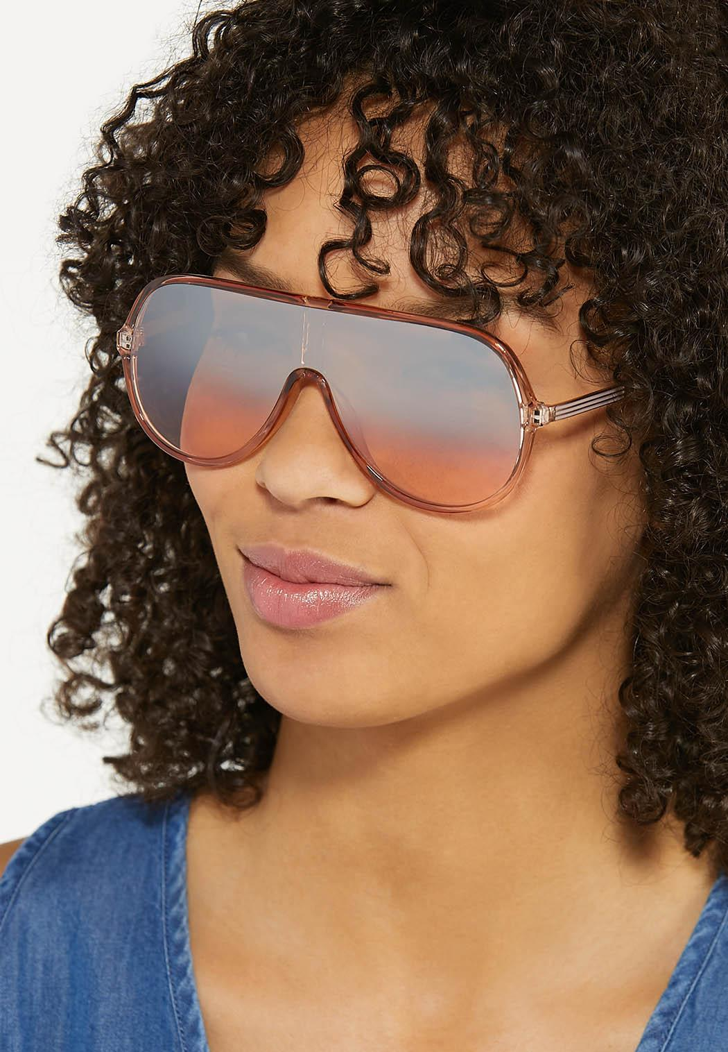 Mango Shield Sunglasses (Item #44587958)
