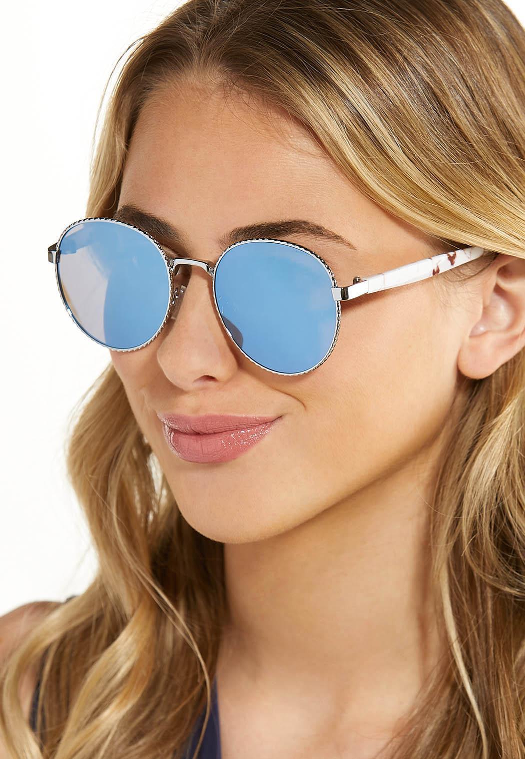 Mirrored Round Sunglasses (Item #44587962)