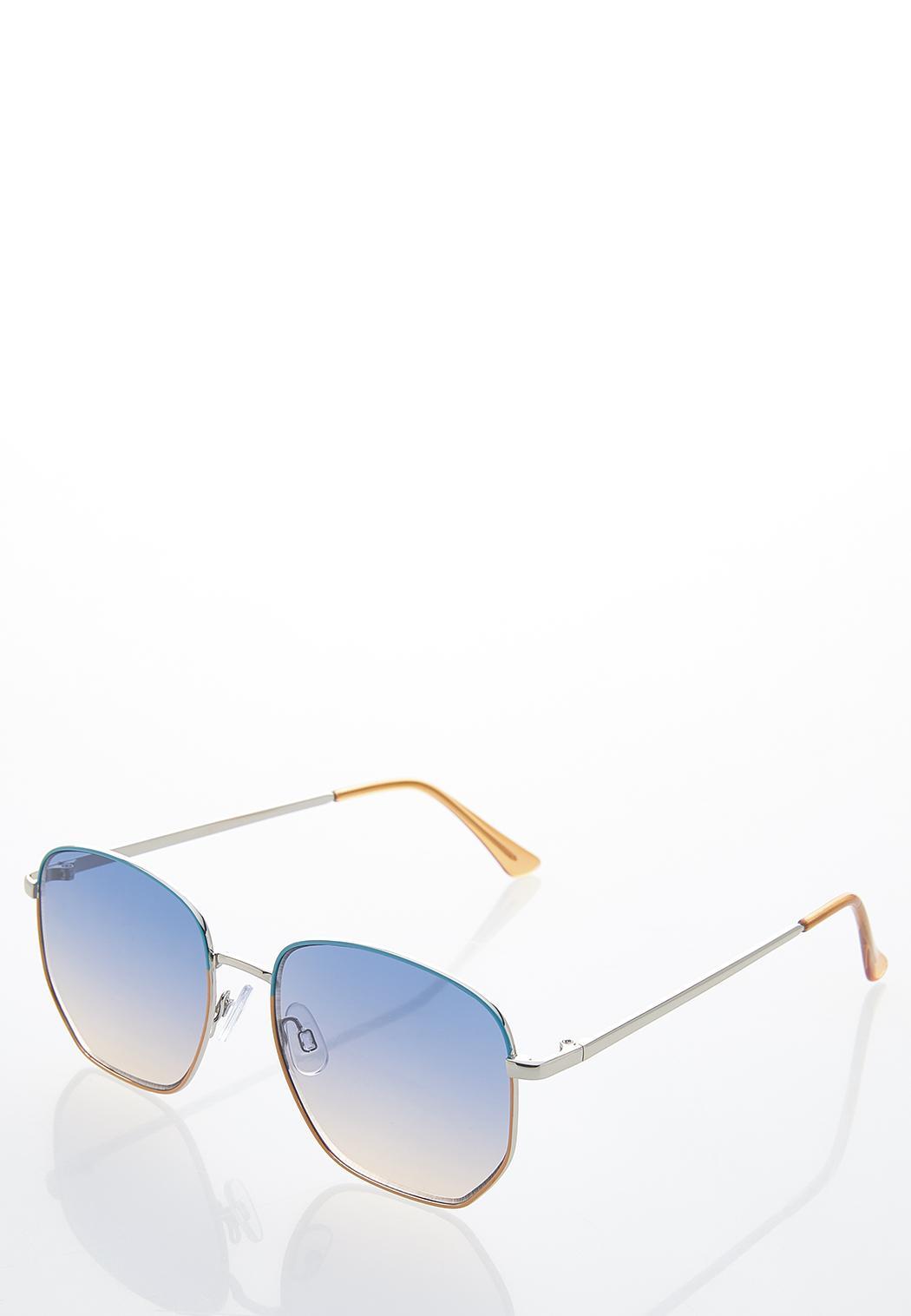 Two-Tone Fashion Sunglasses (Item #44587964)