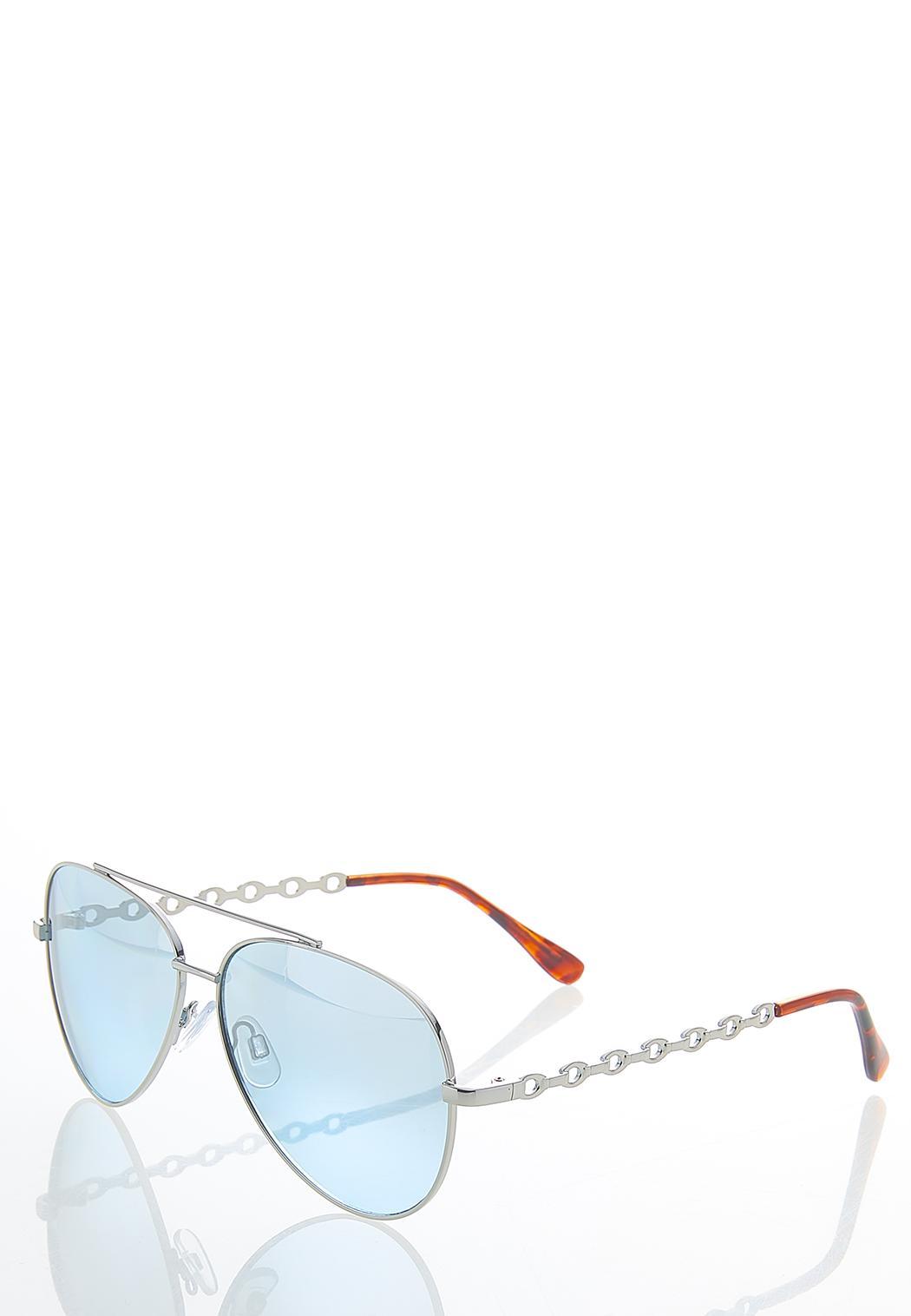 Mirrored Aviator Sunglasses (Item #44587982)
