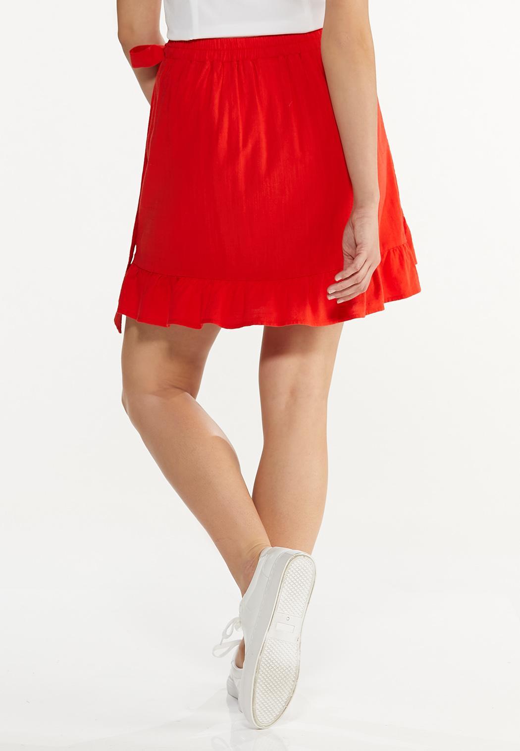 Red Ruffled Skort (Item #44588083)