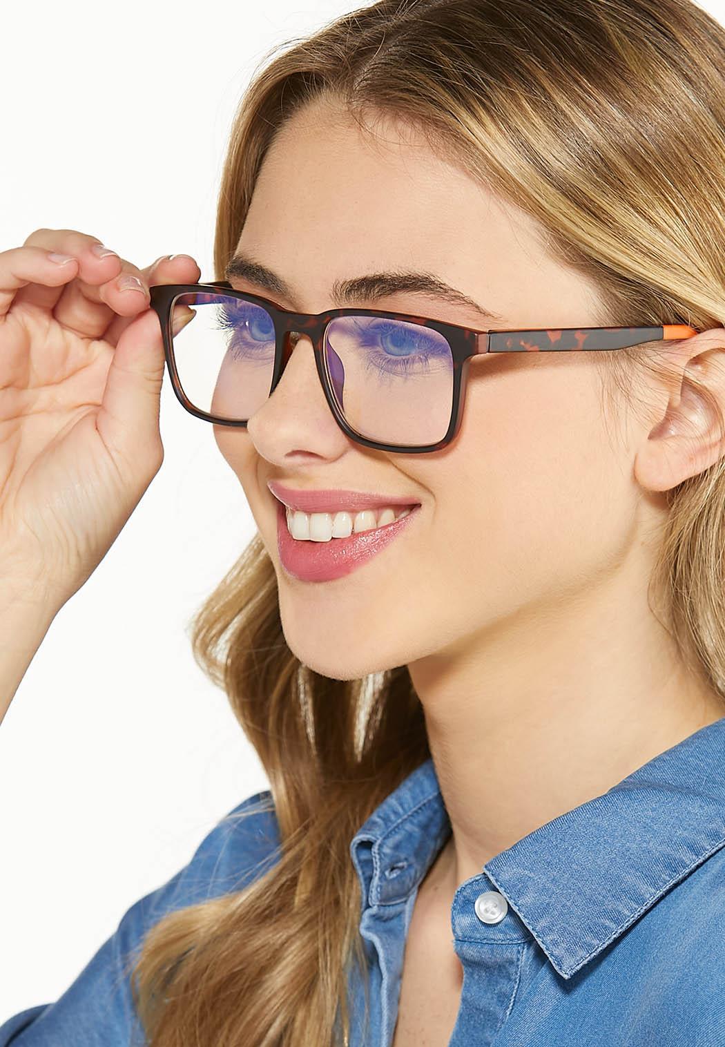 Tortoise Orange Blue Light Glasses (Item #44588432)