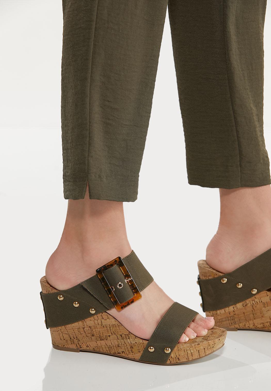 Olive Track Pants (Item #44588585)