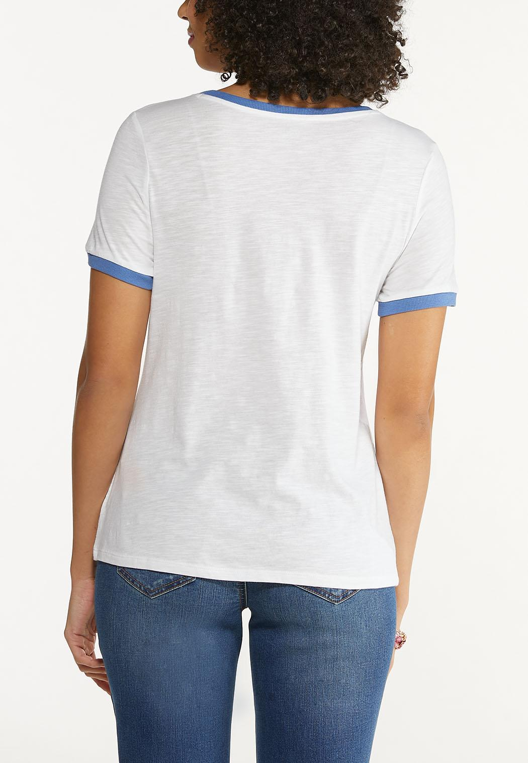 Plus Size Truly Simply Blessed Tee (Item #44589268)