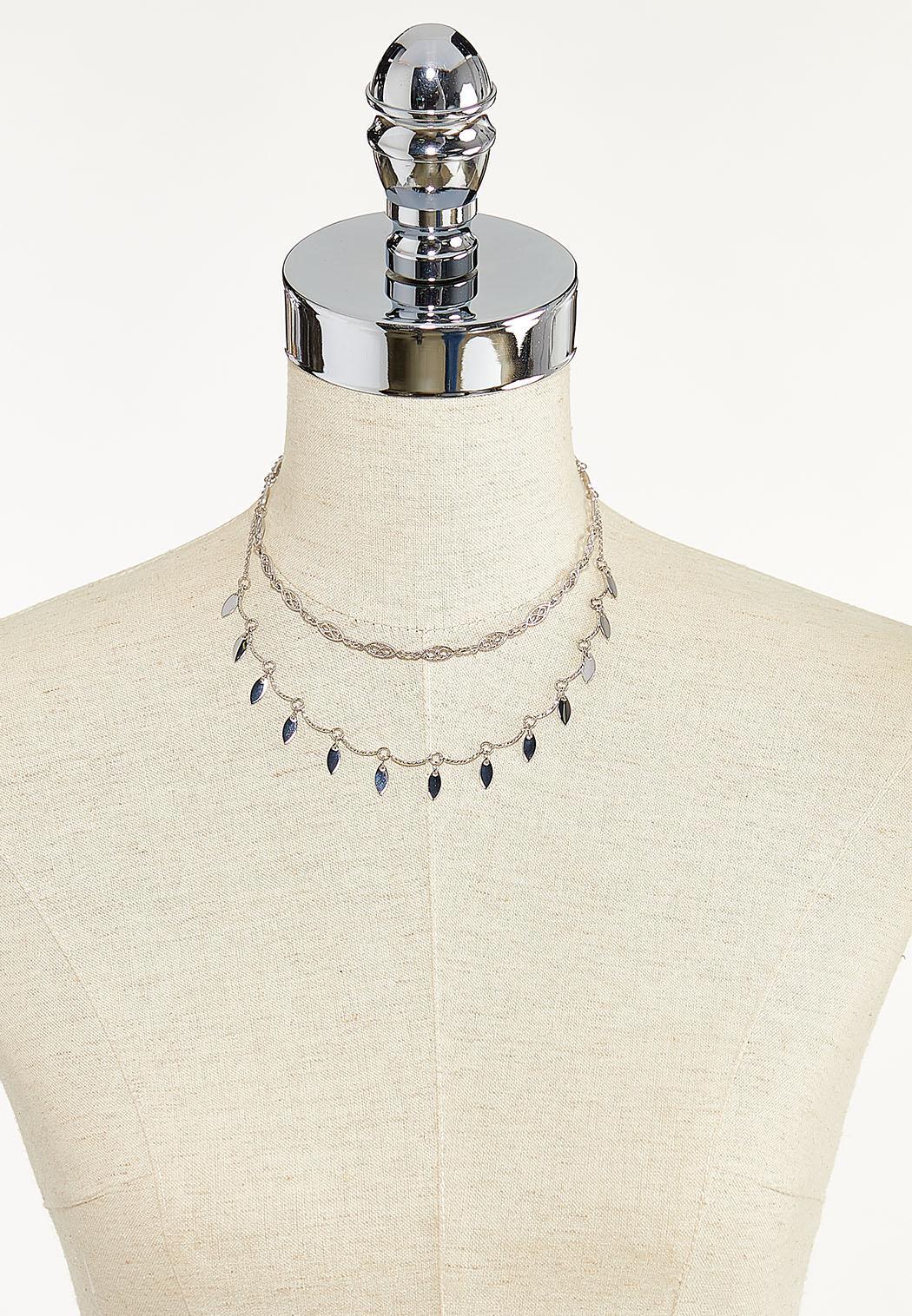 Layered Shaky Bead Necklace (Item #44589771)
