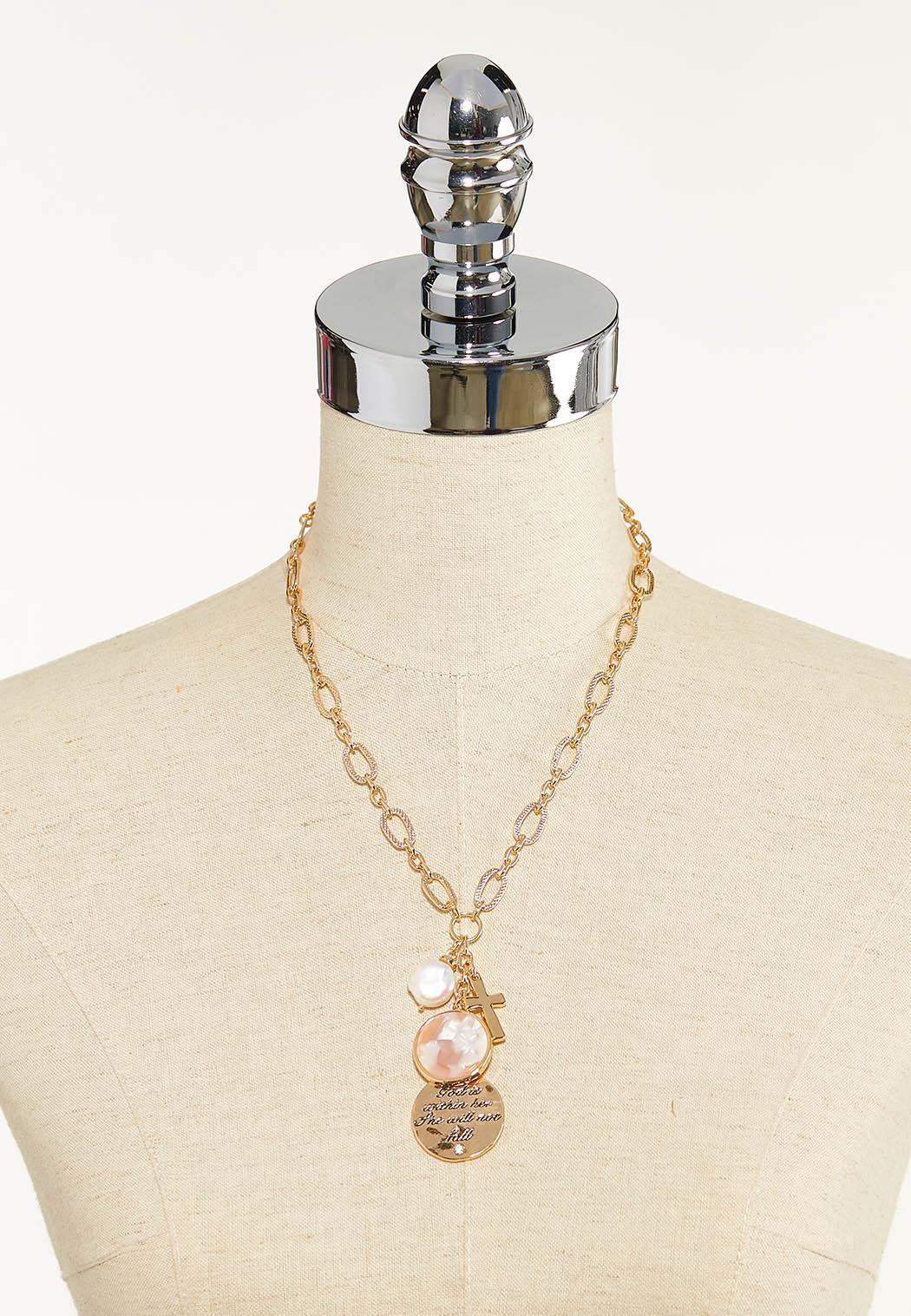 Inspirational Charm Necklace (Item #44589862)