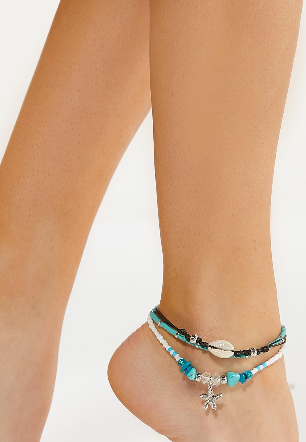 Beach Vibes Starfish Anklet (Item #44590123)