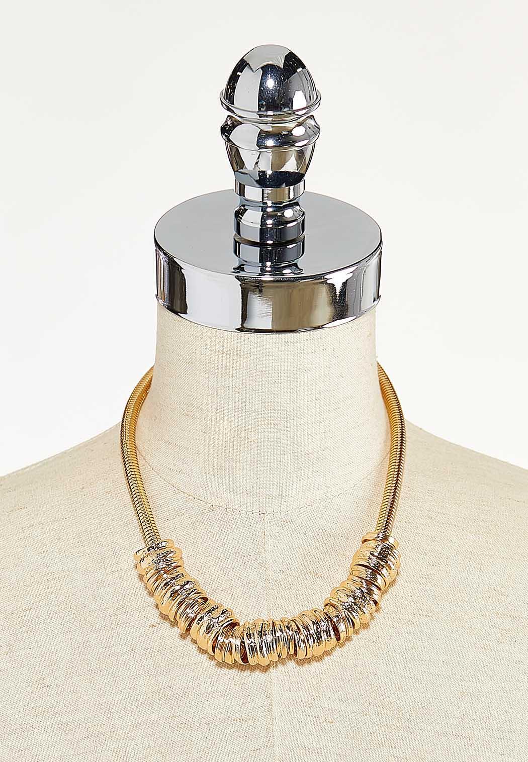 Metal Ring Necklace (Item #44590547)